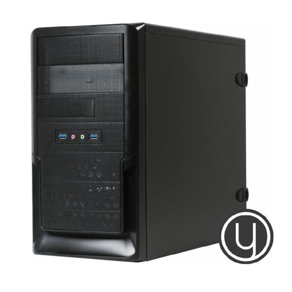 Yours Black Desktop PC i7/16GB/2TB/240GB SSD/HDMI/W10