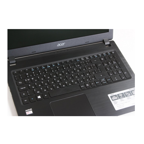 Acer 15.6 / E2-9000 / 4GB / 500GB / W10 / International Keyboard