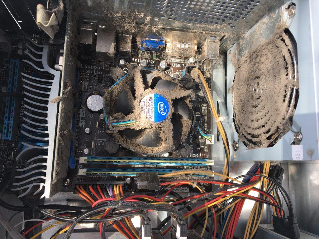 Stofvrij maken van computer | Computerhulp Stedendriehoek
