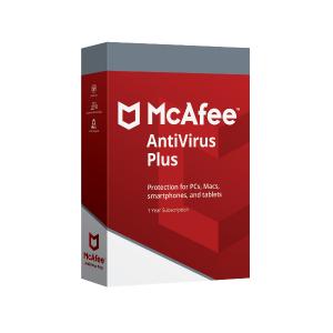 McAfee Antivirus Plus 3-PC 1 Jaar   Computerhulp Stedendriehoek